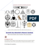 Seventh Day Adventist's Masonic Symbols