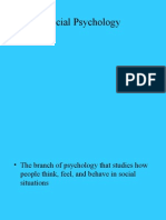 Chapter 12 - Social Psychology