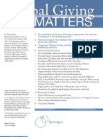 Global Giving Matters Fall 2010 Issue 42