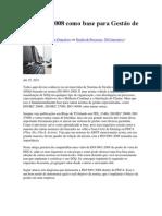 ISO 9001_2008 como base para Gestão de TI
