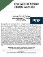 Victor Fuchs Estate Auction