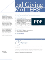 Global Giving Matters Fall 2011 Issue 45