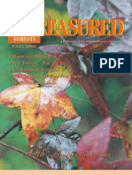 2002 Fall TREASURED Forest Magazine