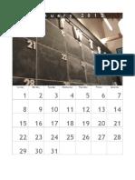 Gordon Dymowski - 2012 Calendar