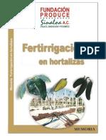 Fertirrigacion de Hortalizas