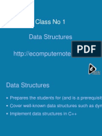 Computer Notes - Data Structures - 1