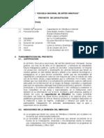 Proyecto Capacitación de Ofimática Sara Avelino