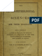 The Psycho-physiological Sciences, And Their Assailants 1883