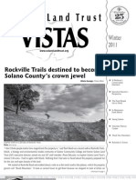 Winter 2011 Vistas Newsletter, Solano Land Trust