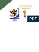 Fixture Del Mundial 2010