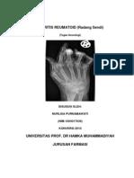arthritis reumatoid (radang sendi)