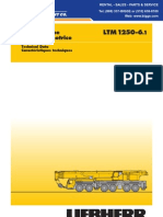 Liebherr LTM1250 Technical Data