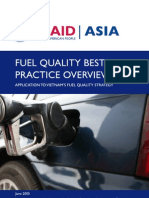 Fuel Quality Best Practice Overview