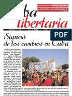 Cuba Libertaria, nº 15, mayo 2010 - Signos de los cambios en Cuba