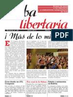 Cuba Libertaria, nº 20, abril 2011 - ¡Más de lo mismo!