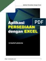 Aplikasi Persediaan Stok Excel