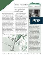 Winter 2005 Sonoma Land Trust Newsletter