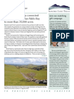 Fall 2007 Sonoma Land Trust Newsletter