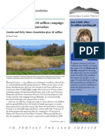 Fall 2009 Sonoma Land Trust Newsletter