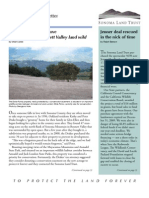 Spring 2010 Sonoma Land Trust Newsletter