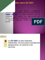 Mitos y Real Ida Des de ISO 9001