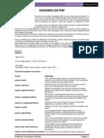 Secciones PHP