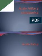 Deficiencia de Acido Folico y Vitamina B 12