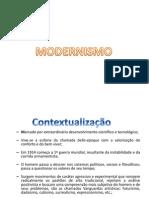 modernismo- aula