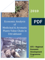 Medicinal Plants Economic Analysis