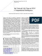 Prolonging the Network Lifetime in WSN Through Computational Intelligence
