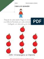Fichas de Para Autovalorarse y a Diplomas Navidad