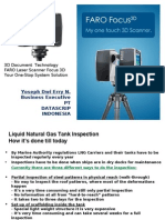 Faro Focus 3D for Tank Inspection