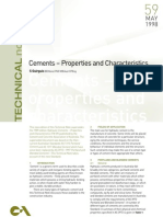 Properties of Cement