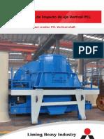 Trituradoras de Impacto de Eje Vertical PCL