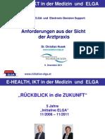 Husek Anforderungen e Health 111209