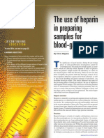 The Use of Heparin