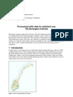 Traffic Count - Norvegian Methods