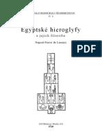 Egyptské hieroglyfy a jejich filosofie