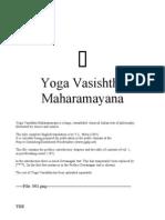 9504115 Yoga Vasishtha Transl Mitra Introduction