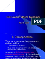 Decision Making Can