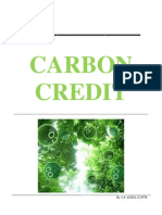Carbon Credit by CA Sushil Gupta