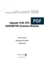 SOP-Upgrade 9100 Bts With Tre Evolution Modules
