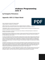 Mastering VB6 Database