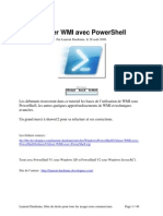 Utiliser WMI Avec Power Shell