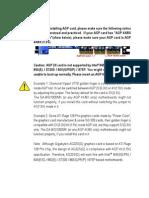 Motherboard Manual x e