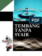 TEMBANG TANPA SYAIR - 01