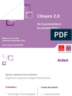 Citoyen 2.0 - Déjeuner sur le web - 16 décembre 2011