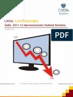 CRISIL Macro Outlook Revision_Dec 2011