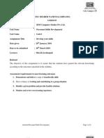 Assignment Personal Skills Development