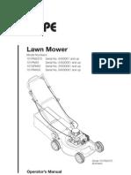 Pope Lawn Mower (101PM2375,101PM45,101SPM45,101PM450) - User Guide